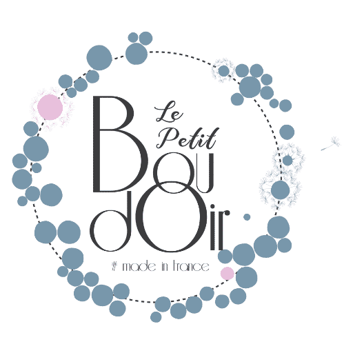 """Logo """"Le Petit Boudoir"""" - Boutique de cadeau à Miribel"""